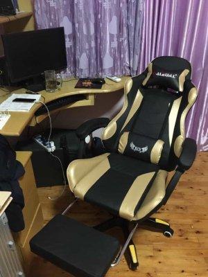 รีวิวเก้าอี้เกมมิ่ง-สีทอง-12-min