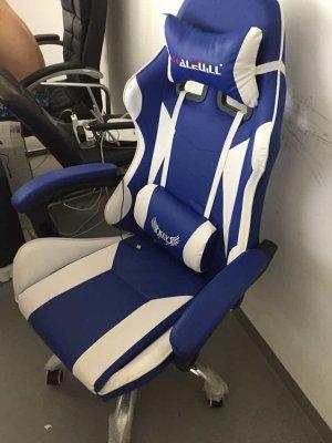 รีวิวเก้าอี้เกมมิ่ง-สีฟ้า-10-min