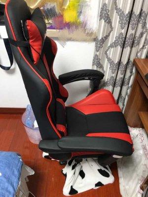 รีวิว เก้าอี้เกมมิ่ง สีแดง 4