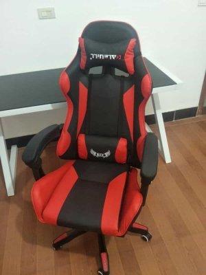 รีวิว เก้าอี้เกมมิ่ง สีแดง 1